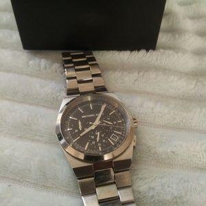 Michael Kors Ladies Watch Silver